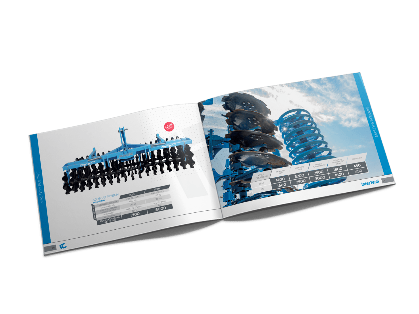 produkcja graficzna i druk folderów